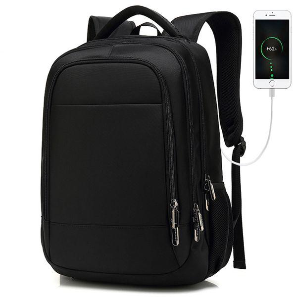 "Men Travel Backpack Large Capacity Teenager Male Mochila Back Anti-thief Bag 17.3"" Laptop Backpack Waterproof Backbags"