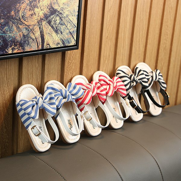 size 7 official photos save off Summer Girls Sandals Children Students Soft Bottom Baby Fashion Breathable  Comfortable Children Princess Shoes Bowknot Shoes Boots For Toddlers Boys  ...