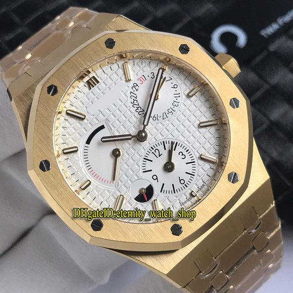 TWA Top Version Royal Series Dual Timezone 26120OR.OO.D088CR.01 Power reserve Dial Cal.2329/2846 Automatic Mens Watch Sapphire Sport Watches