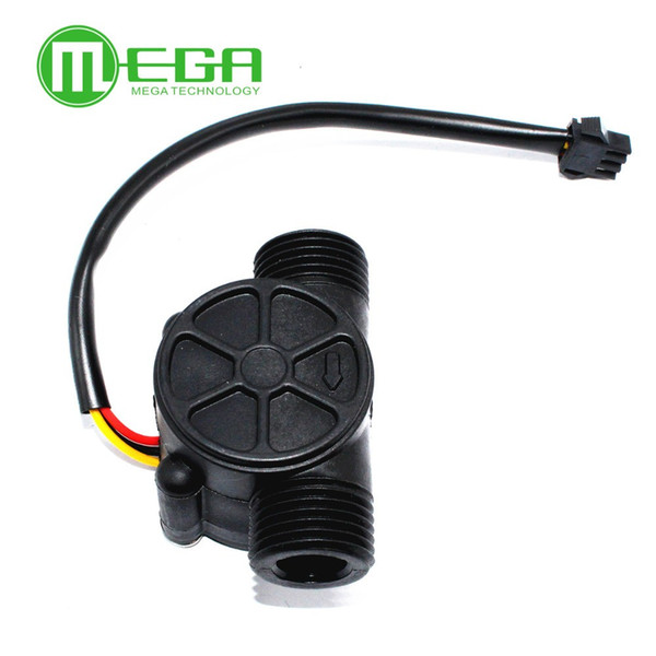 Freeshipping 10pcs Water flow sensor flowmeter Hall flow sensor Water control 1-30L/min 2.0MPa YF-S201 YF-S401