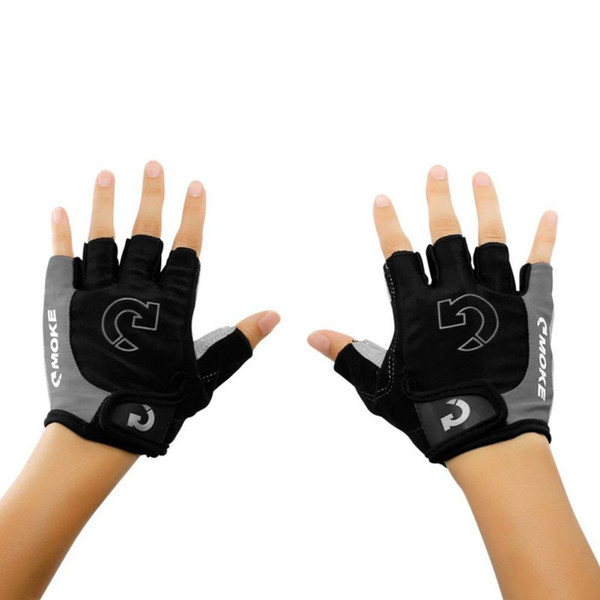 Bicycle Sports Half Finger Anti-slip Gel Pad Shockproof Breathable MTB Cycling Gloves Road Bike Gloves 3 Colors Bicycle