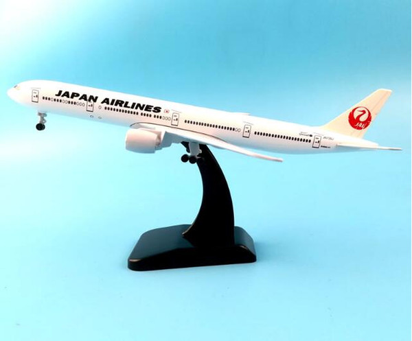 20CM BOEING 777 JAPÃO AIRWAYS AIRPLANE METAL LIGA DE MODELO AERONAVES DE AERONAVE MODEL TOY AIRCRAFT ANIVERSÁRIO PRESENTE COLLECTON
