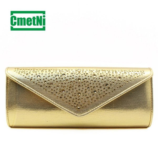 2019 Fashion New Ladies Clutch Bag Hot Drill Clutch Bag Ladies Shoulder Slung Female Long Mobile Phone
