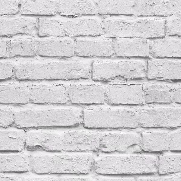 Acheter 3d Blanc Brique Effet Papier Peint Rouleau Gris Clair Moderne Vintage Rustique Pvc Faux Brique Mur Papier Salon Chambre Decor De 31 8 Du