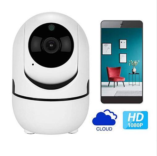 2019 Auto Track 1080 P Cámara Monitor de seguridad WiFi inalámbrico Mini inteligente de alarma CCTV Cámara interior Monitores para bebés