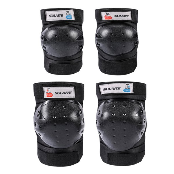 New Motorcycle Motocross Sports Safety Elbow Knee Pads Protective Gear 4pcs//Set