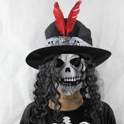 Halloween fête accessoires bar chambre d'évasion tous les masques de latex masques en gros terr