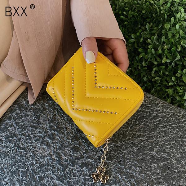 [BXX] 2019 Quaste Frauen Brieftasche Kleine Nette Brieftasche Frauen Pu-leder Münzen Brieftaschen Reißverschluss Geldbörsen Weibliche Kupplung HG052