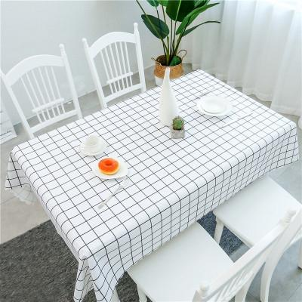 O fabricante vende diretamente Nordic pastoral toalha de mesa à prova d 'água, mesa de chá retangular à prova de óleo, mahjong ins toalha de mesa de vento