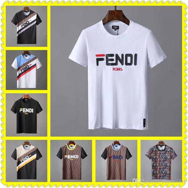 CHEAP Designer luxury men T-shirt clothing letter embroid cat paillette sequin tshirt Tees cotton women Casual Tops shirts