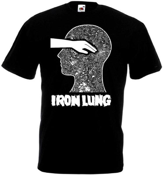 Iron Lung v3 T-shirt black hardcore punk powerviolence all sizes S-5XLFunny free shipping Unisex Casual Tshirt