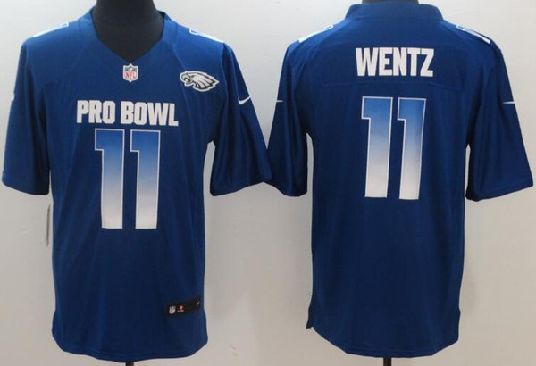 pick up 7008c 0a175 Philadelphia Eagles Men Jerseys #11 Carson Wentz 2019 Pro Bowl Limited  Women Youth Jersey Tuxedos With Style Wedding Tuxedos White From ...
