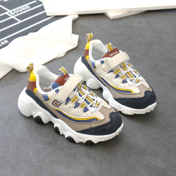 Fashion 2020 Kids Shoes Baskets Enfants Kids Trainers Kids Sneakers Toddler Shoes Girls Shoes Boys Trainers Girls Sneakers Retail B396 Running Shoes