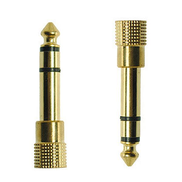 Jack 6.5 6,35mm Maschio Spina a 3,5 mm Connettore femmina Amplificatore per cuffie Adattatore audio Microfono AUX 6.5 Convertitore da 3,5 mm