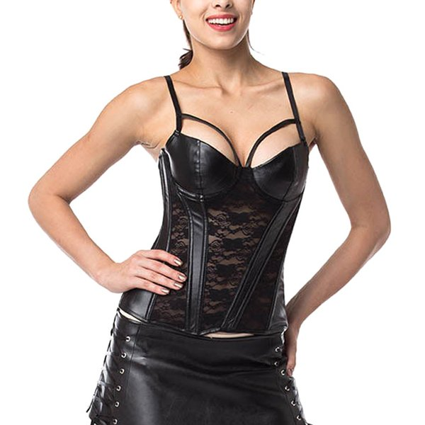 Droppshiping donne che dimagriscono corsetto pizzo ricamo corpo shaper Bustier per Cosplay Party dg88