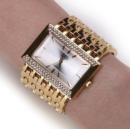 Women's quartz watch 2019 all new price Very favorable price Platinum steel strip