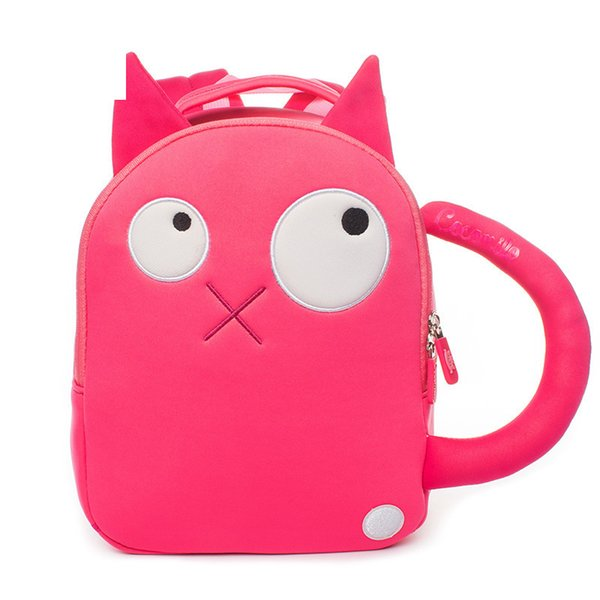 Factory Outlet Cocomilo Children New Style Cartoon Cat Schoolbag Kindergarten 3d Cute Dog Animal Backpack School Bags For Girls