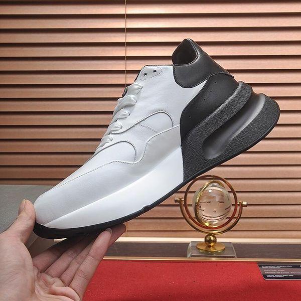 Chegada Nova Oversized Runner Mens Shoes Fashion Style Luxury Vintage respirável Lace-up Shoes Drop Ship Zapatos de moda para hombre