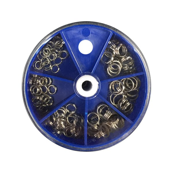 ring Lixada 115pcs Antirust Split s Set Stainless Steel Double Split Rings Fishing Connection Ring of Full Size Fishing Tackle