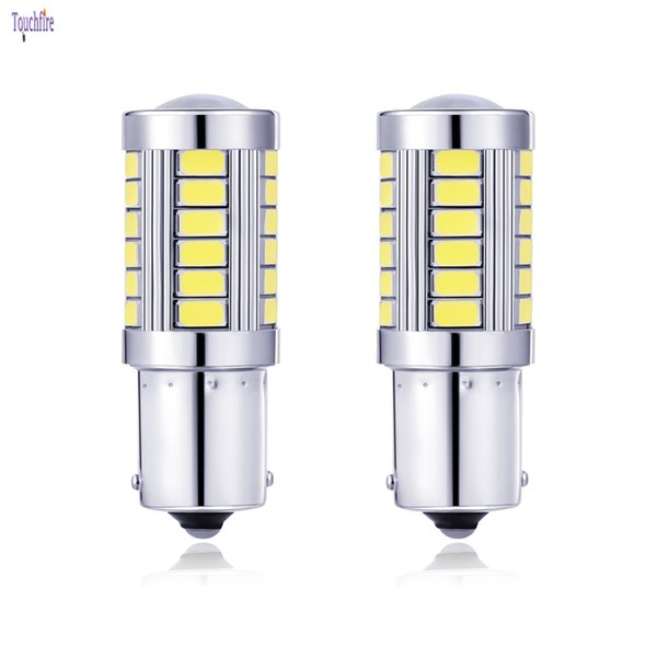 4 adet 1156/1157 BA15S P21W 5630 5730 12 V LED Araba Kuyruk Ampul Fren Lambaları otomatik Ters Lamba Gündüz Çalışan Işık kırmızı beyaz sarı