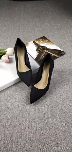 Дизайнер телячьей кожи женщины подиум котенок каблуки насосы босоножки сандалии мулы квартиры бежевый серый платье Свадебные туфли Ks19011804