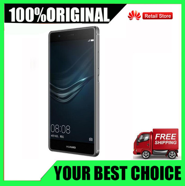 Brand New Original Huawei P9 3 Go / 4 Go RAM 32 Go / 64 Go ROM Octa core Huawei téléphone Kirin 955 5.2inch double carte SIM 12.0MP