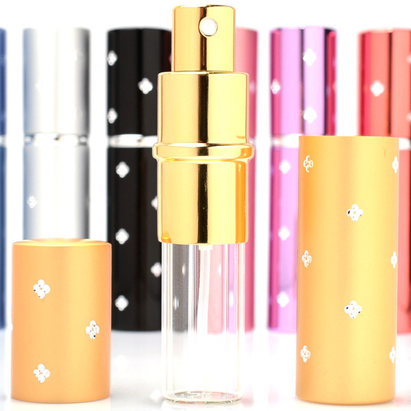 Top quality Travel Perfume Atomizer Refillable Spray Empty Bottle Wholesale DHL Free Shipping