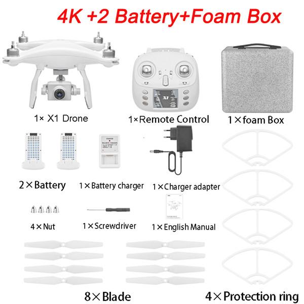 4K 2B Foam Box