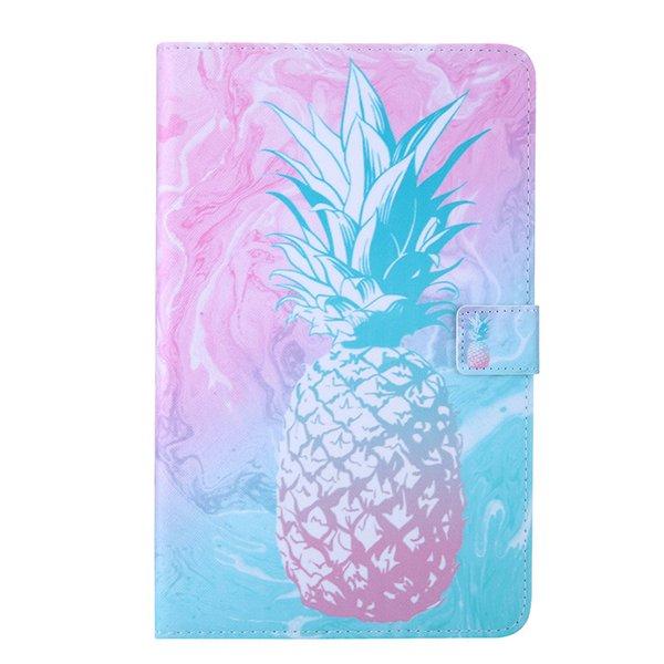 Per Amazon Kindle Fire 7 2015 2017 Tablet Custodia Cover Flip Cover Custodia in pelle con funzione di inserimento scheda farfalla fiore