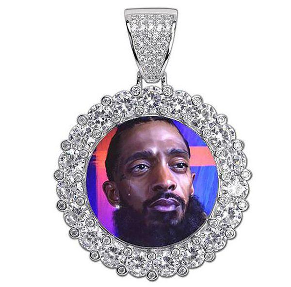 실버 빅 다이아몬드 + 로프 체인