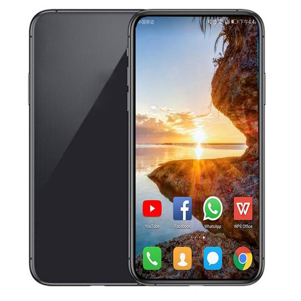 Green tag ealed 6 1 inch goophone i11 goophone i11 face id wirele charging wcdma 3g quad core ram 1gb rom 4gb camera 8 0mp how 512gb dhl