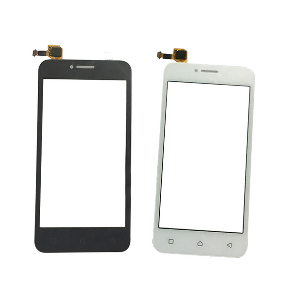 SZMUGUA Glass Lens Panel Black White Digitizer Sensor For Lenovo A1000 A 1000 / Vibe B (A2016) A40 Touch Screen + Free Tool
