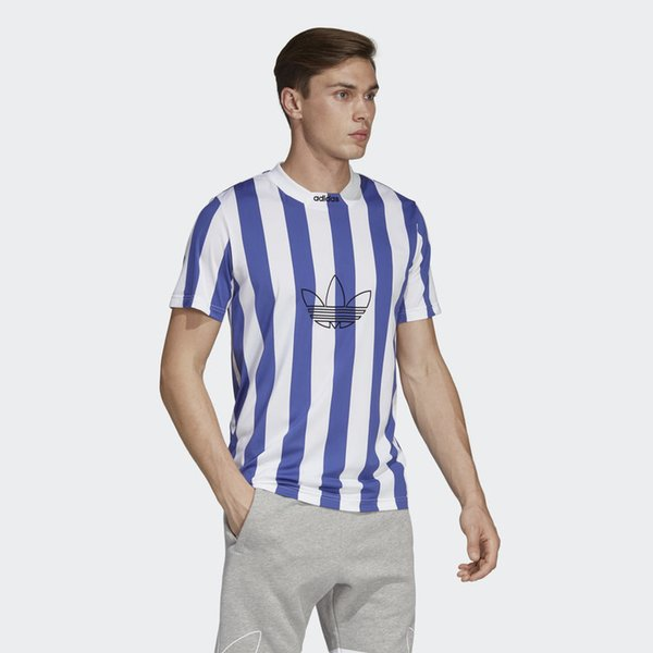 Erkek Tişörtleri Tops 2019 Yeni Arrivel Marka Erkekler Marka O-mürettebat Geometrik Boyun Kadın T-Shirt Rahat Erkek Üst Artı Boyutu AD M-4XL