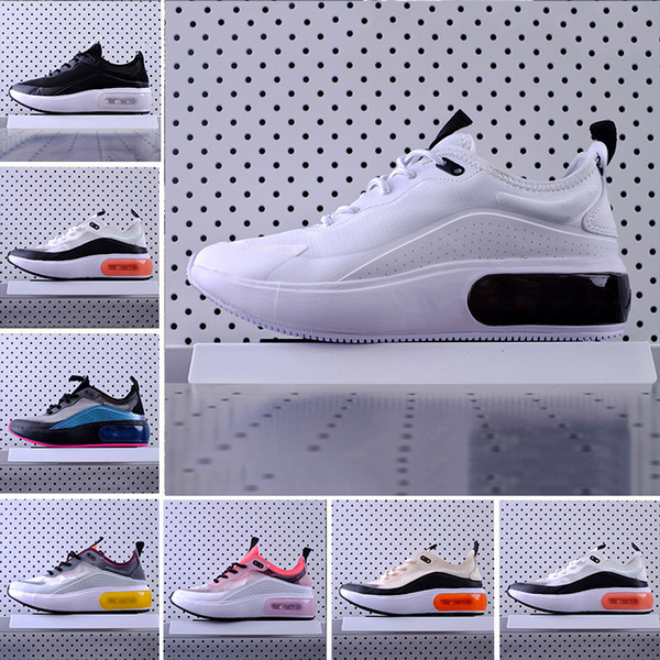 nike Air Max dia  shoes Se Black Pink Running Shoes for Women Men Designer Red Grey Dias Se Racer Womens mens Sports Sneakers des chaussures