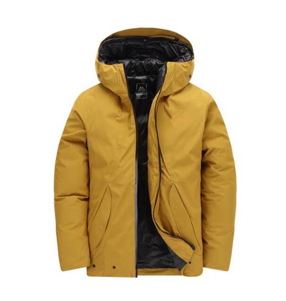 2019 New arrived men down north jacket winter men warm coat jacket 90% duck down hooded face jacket 9157