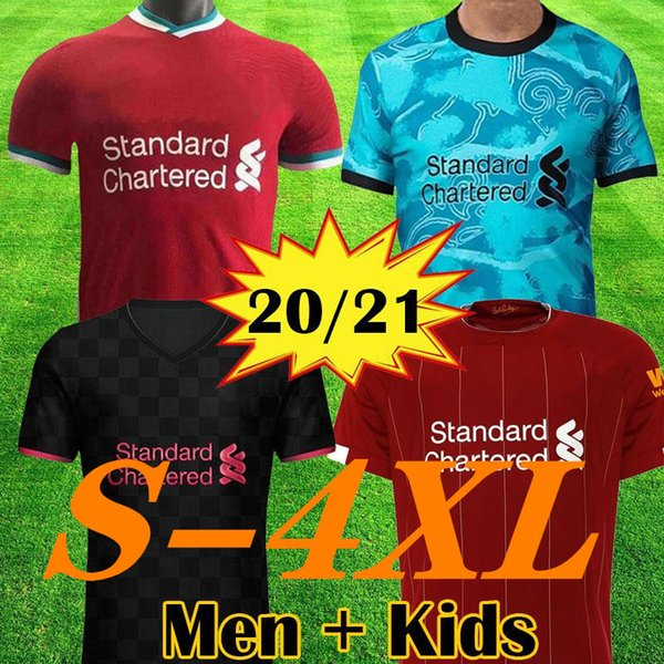 top popular New 2020 2021 LARGE SIZE XXL 3XL 4XL home and away 3rd soccer jerseys 2020 XXL Football uniform 2021