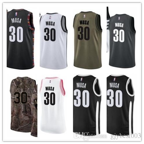 online store 47923 fa0a4 2019 Custom Best 2018 Basketball Wear Men'S Your Selected#30 Dzanan Musa  Yellow Jersey City Edition Basketball Jerseys From Gjybest005, $18.1 | ...