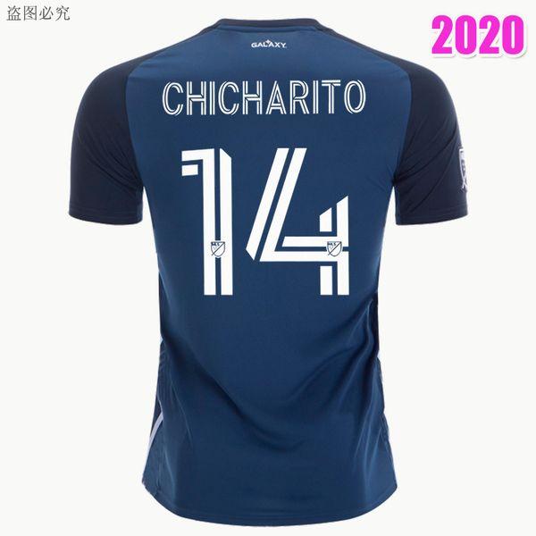 LA Galaxy Lejos Azul marino # 14 Chicharito