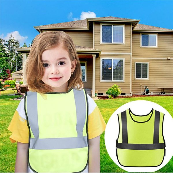 top popular Cycling Bicycle Safety Vest Kids Reflector Vest For Outdoor Night Activities Or Construction Worker Costume Safety 30LY29 2020
