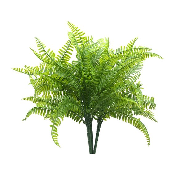 2Pcs Simulation Persian Grass Multi Usage Artificial Fern Grass Decorative Plastic Fern Leaves For Home Table Colorful