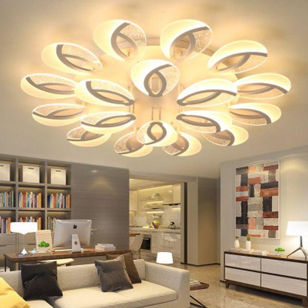 Großhandel Nordic Deckenleuchten Neuheit Postmodernes Wohnzimmer Leuchten  Schlafzimmer Gang LED Deckenleuchte Deckenbeleuchtung Von Jess234, $100.61  ...