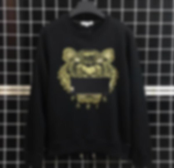 best selling New Brand Hoodies Mens Sweatshirts Tiger Head Embroidery Winter Couple Hoodie with Brand Letters Designer Streetwear Jogger Tops Clothing