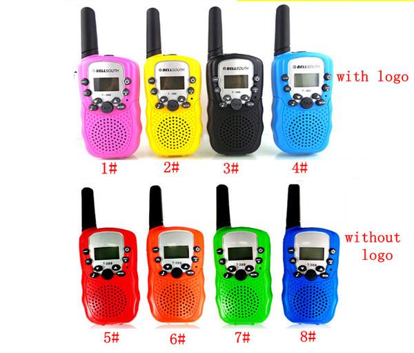 Bambini stazione radio walkie-talkie Retevis T388 0.5W PMR446 FRS radio UHF portatile a due vie Radio Talkly bambini Transceiver favorire FFA2160-2