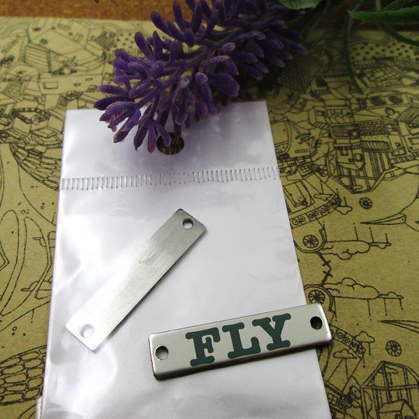 40pcs - «Fly коннекторы» прелесть нержавеющей стали больше стиля для выбора DIY очаровывает подвески для ожерелья