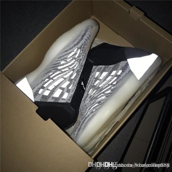 Stivaletti da uomo alla caviglia, il cocco riflette le scarpe da pallacanestro leggere, scarpe da ginnastica da uomo complesse Scarpe invernali taglia 40-46