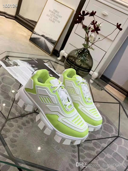 2020 Men Fabric Stretch Jersey Sorrento Slip On Sneaker Designer Lady Two Tone Rubber Micro Sole Breathable Casual Shoes Fd0925 Loafers Mens Boots