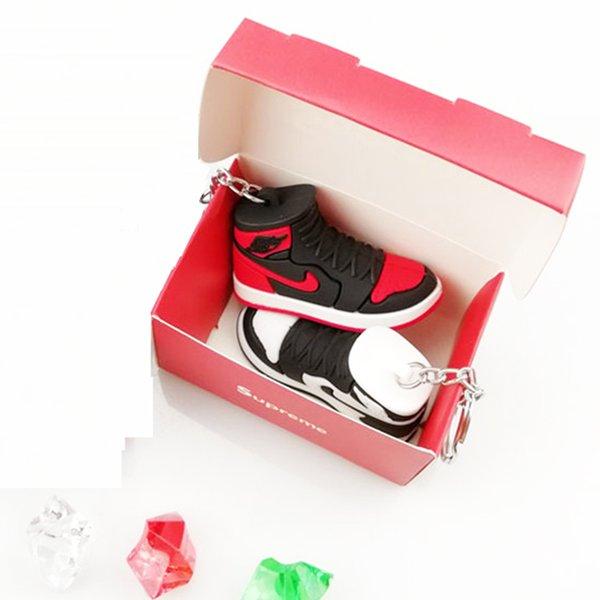 3D Брелок AJ Брелок Аксессуары Подвески Кроссовки Обувь Коробка Ремешок Для Мобильного Телефона Ремешок Баскетбол Обувь