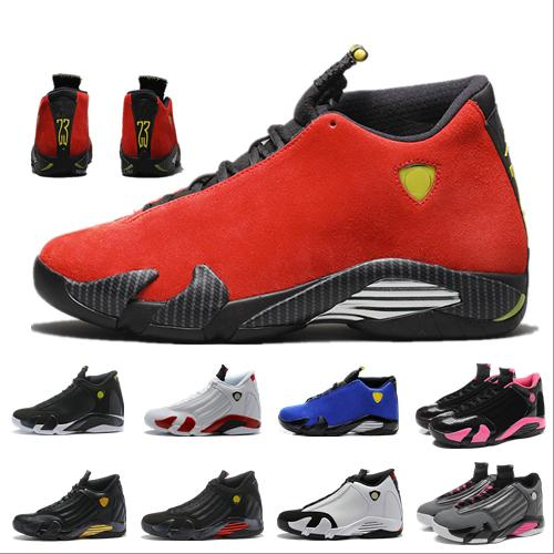 cheap for discount 86d12 33513 2019 New Top Thunder Jumpman XIV 14 Basketball Shoes Mens 14s  Gold/Championship MVP Finals Training Sneakers Sports Running Shoes Size 7  12 Low Top ...