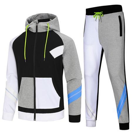 2019 Hoodie für Herren-Trainingsanzüge Designer Marken-Jacke + Hose Set Sport beiläufige laufende Frühlings-Klage-Top-Qualität Kits Drop Shipping B100 Nk