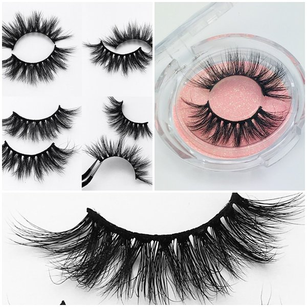 449caf67aa4 2019 New 3d Mink Eyelashes Dramatic Mink Eyelash 5d Thick Long False Eyelash  Wispy Lashes Volume